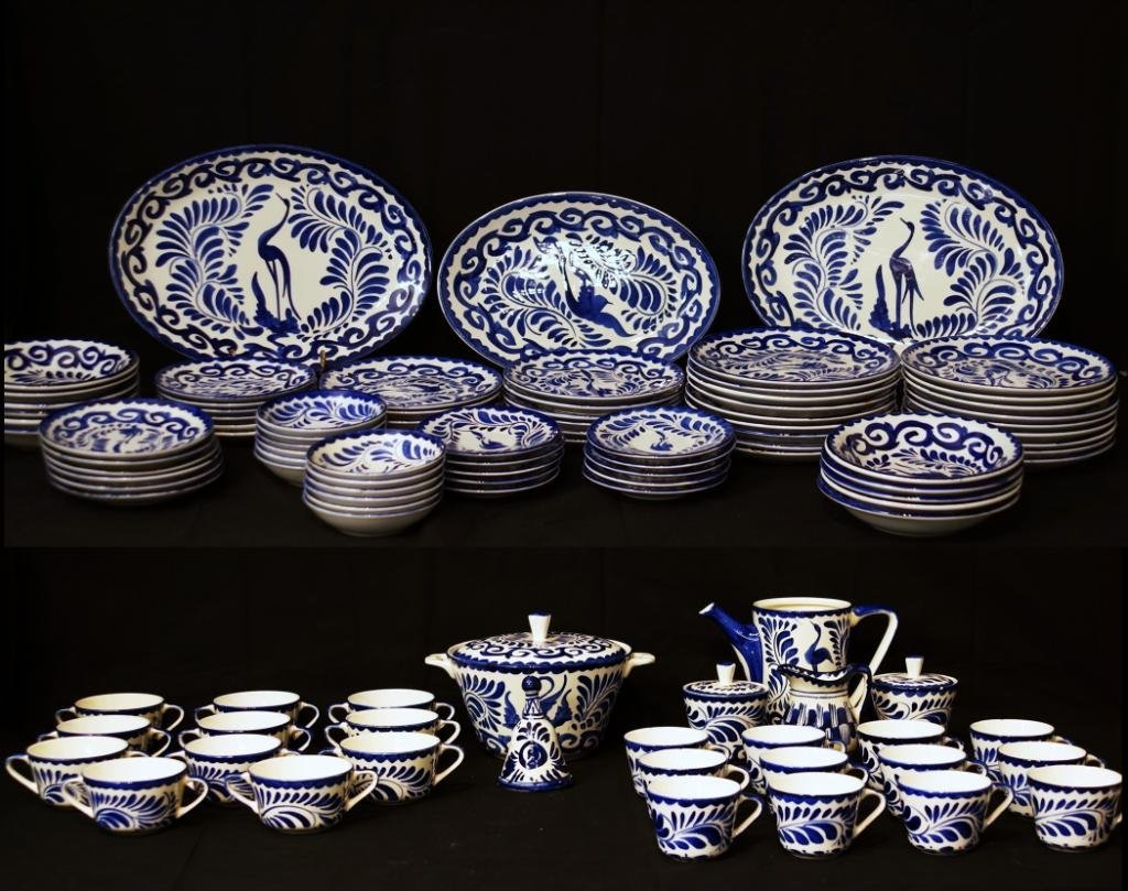 Collection of B & W Anphora Porcelain - 107 pieces