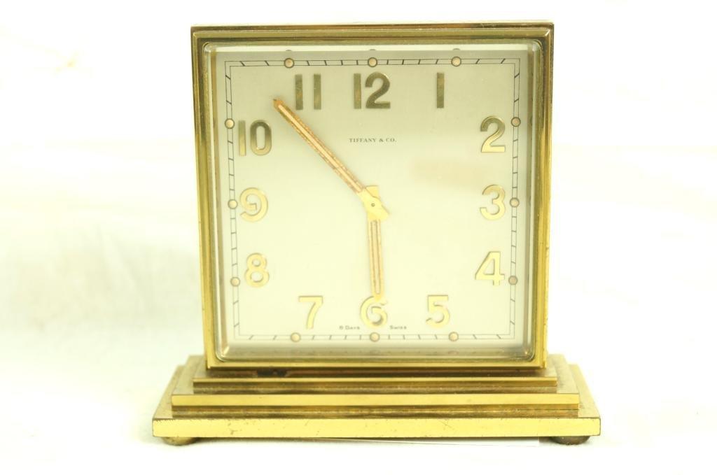 Tiffany & Co. double sided clock