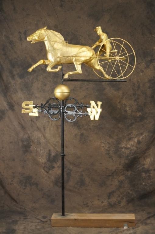 Americana weather vane ~ Horse & Buggy