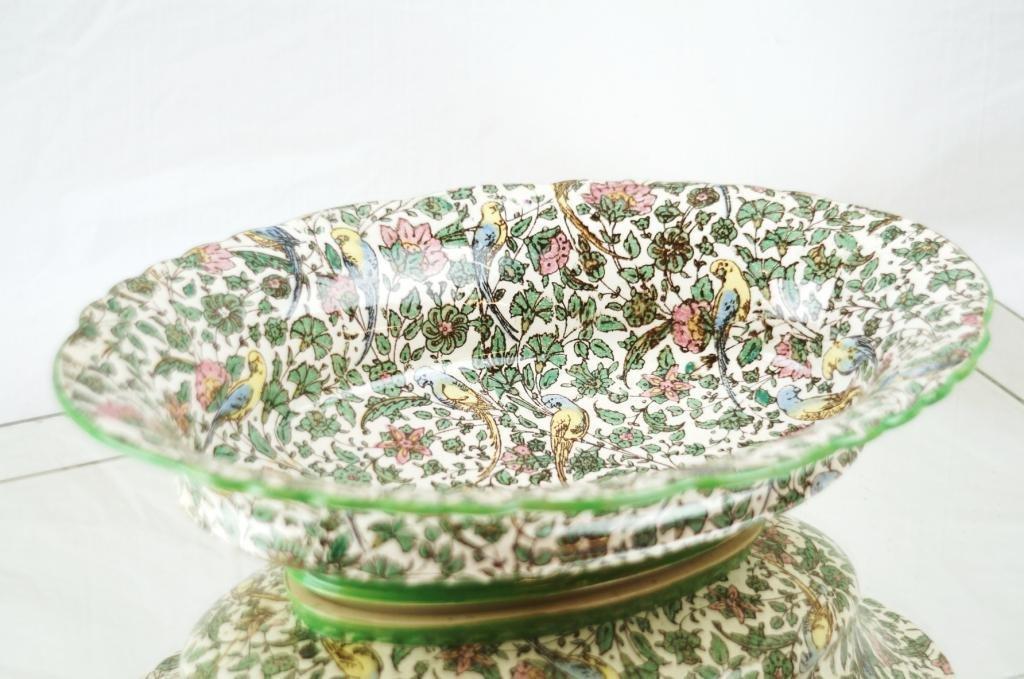 "Royal Doulton ""Chintz"" oval antique bowl"