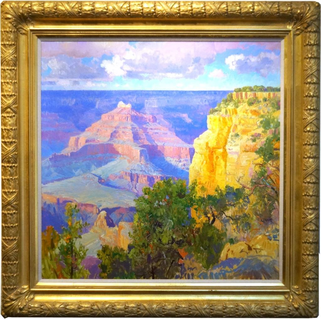 Curt Walters oil on canvas - Grand Canyon