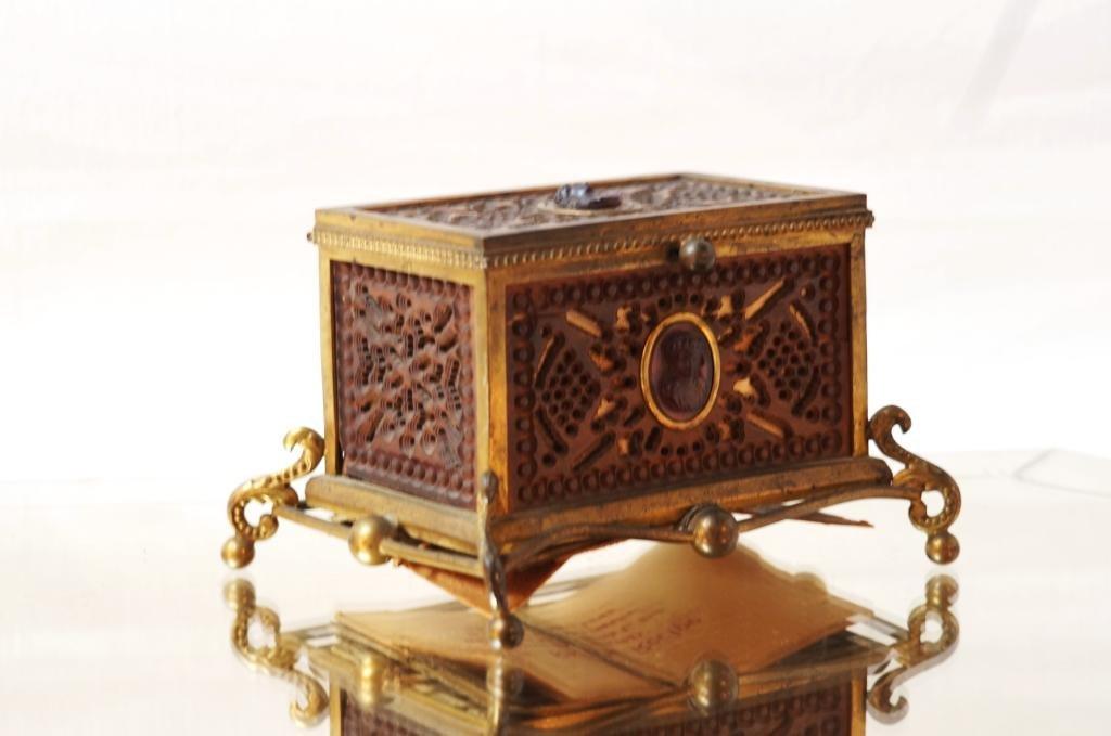 19th c Neo Classical dresser box - A.B. Roman Coll