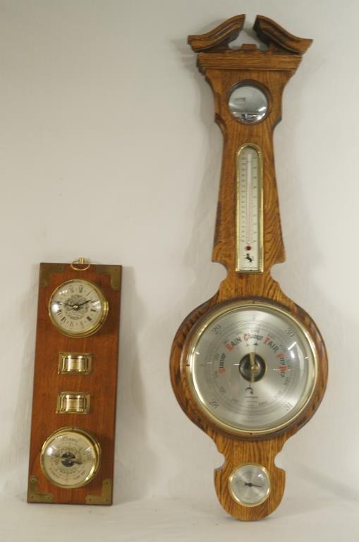 Pair of Hanging Barometers