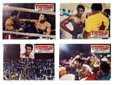 4 Rare Muhammad  Ali French Movie Posters