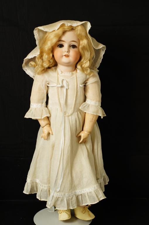 """Armand Marseille 25"""" """"Queen Louise"""" bisque doll"""