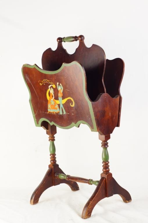 Spanish Rev. Magazine rack - Spanish dancers