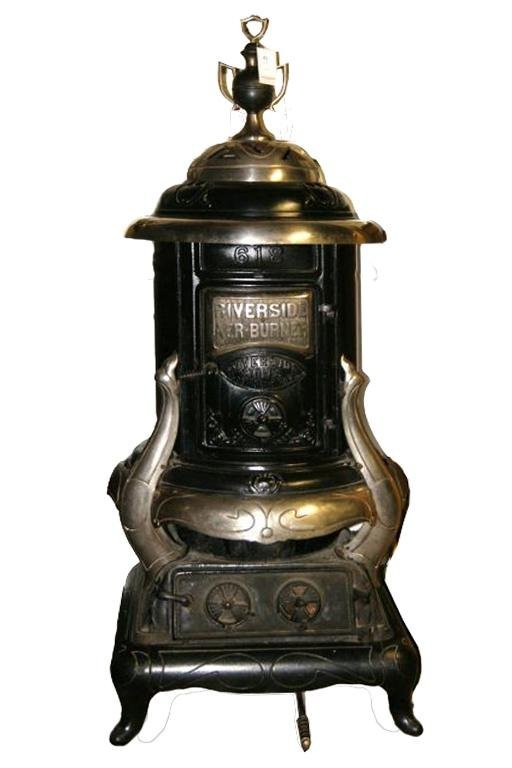 """Riverside Aer Burner""  Wood burning stove"