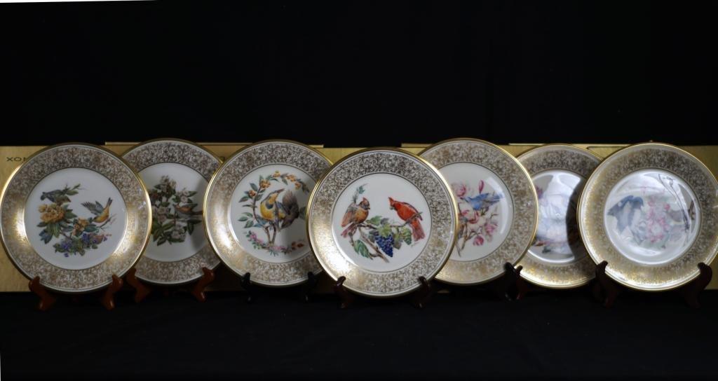 Lenox plates in orig boxes - Boehm birds