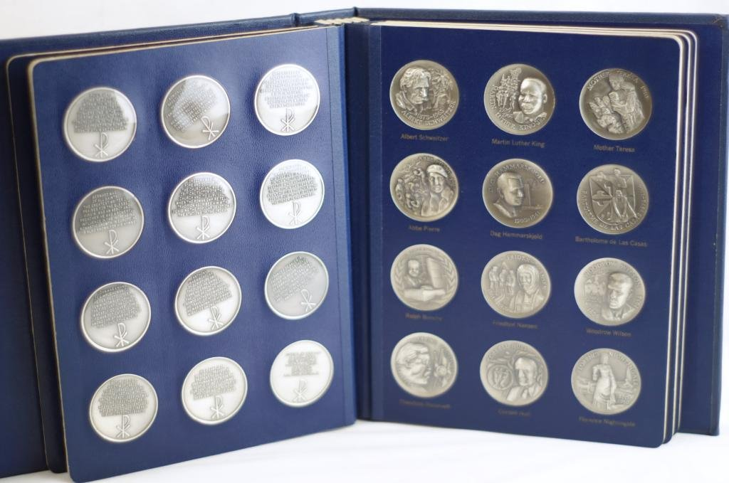 American mint coins - Heroes of God   -  60 - 4
