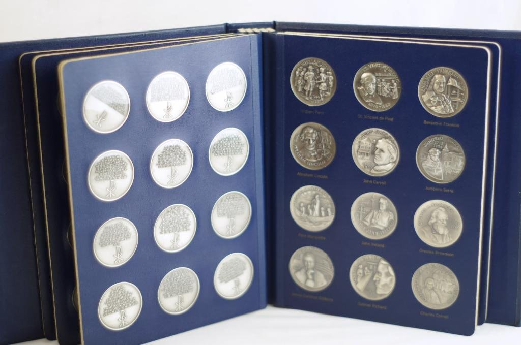 American mint coins - Heroes of God   -  60 - 5