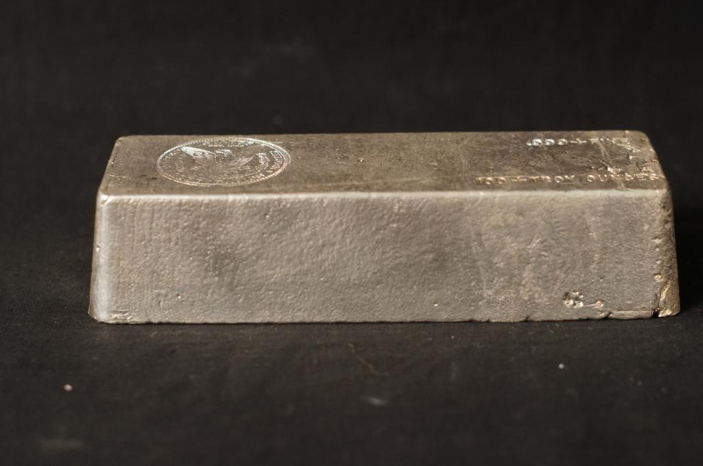 US Silver Corp. .999 Silver Ingot 100+ Troy Ounces - 2