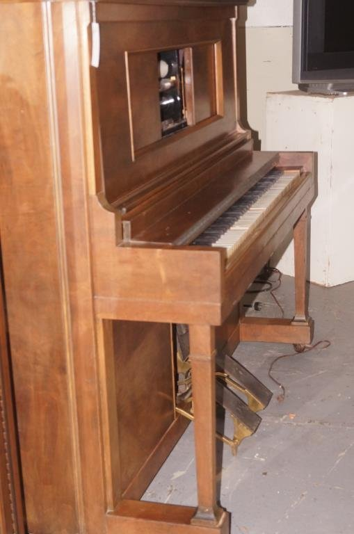 Aldrich player piano - Sherman Clay