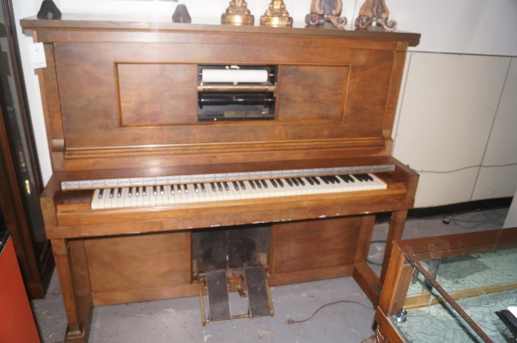 Aldrich player piano - Sherman Clay - 2