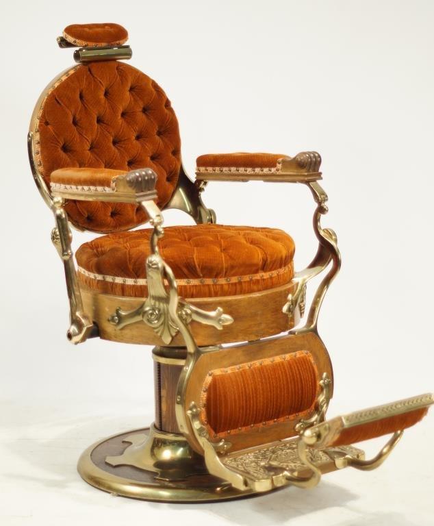 barber chair congress model ca 1890