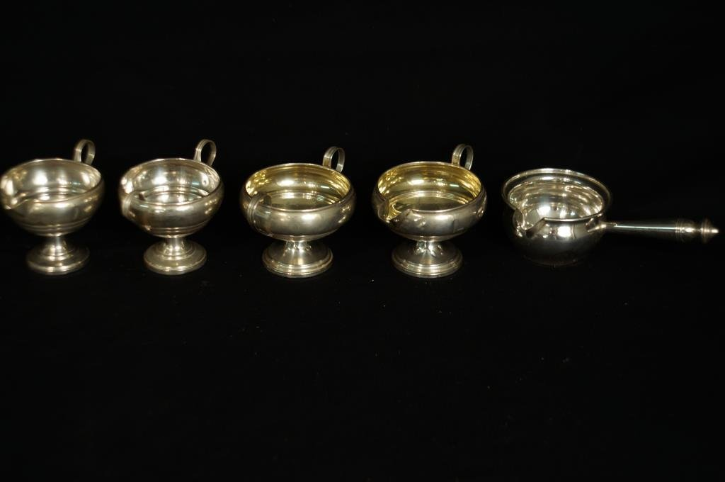 Sterling assorted bowls 5pcs