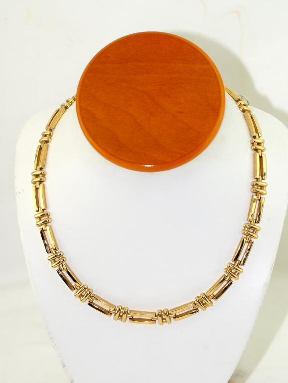 18kt Italian Gold link necklace
