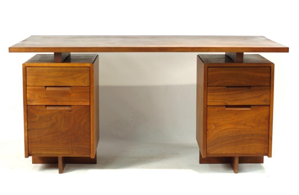 "George Nakashima (1905-1990) 60"" Desk circa 1959"