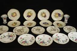 Fine china  porcelain plates  Castleton china