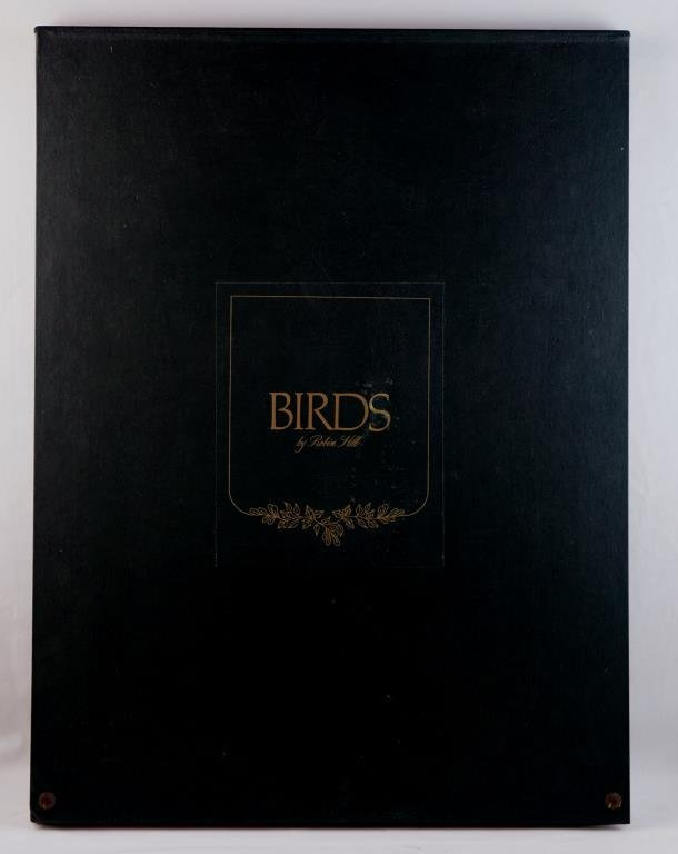"Robin Hill (1932-) "" Birds"" lithographic portfolio - 2"