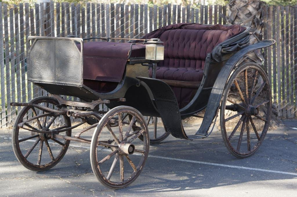 Horse Drawn Brewster & Co NY  Carriage -