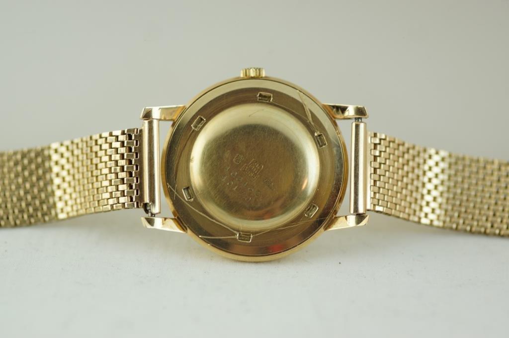 Vintage14kt gold ZentRa Incabloc Automatic Watch - 3
