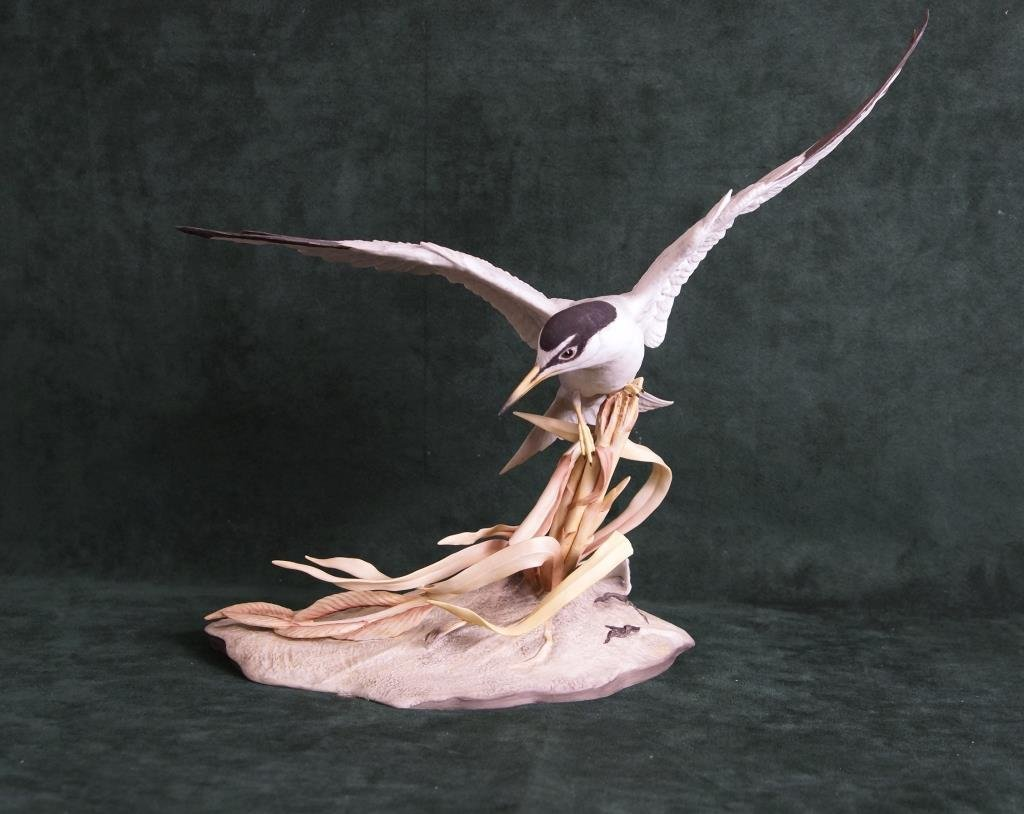 BOEHM BISQUE LIMITED EDITION FIGURE, 'LEAST TERN'