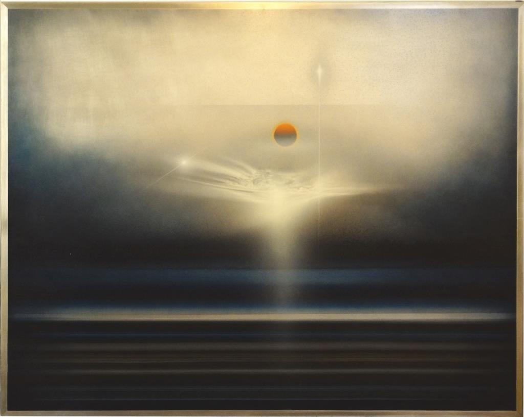 Andreas Nottebohm (1944-) Acrylic on Aluminum