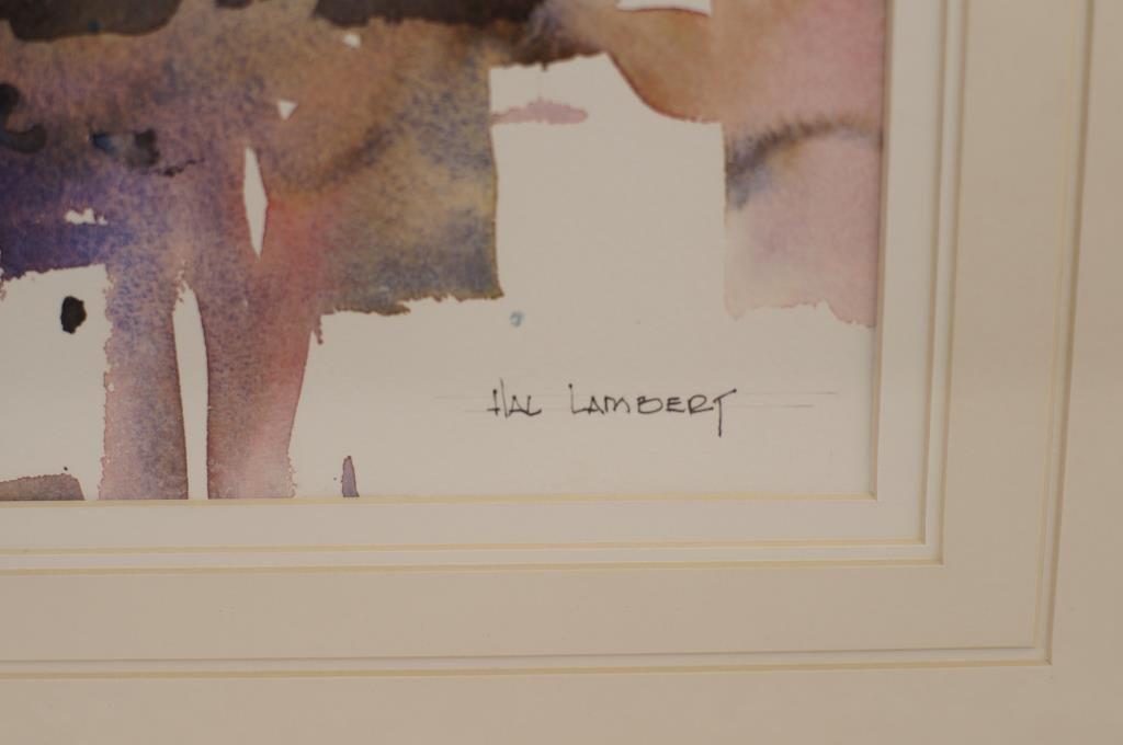 """Hal Lambert 10""""x16"""" watercolor """"Laguna"""" - 4"""