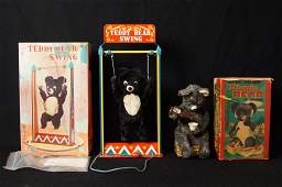 Vintage Japanese battery op. bears - Teddy Bear