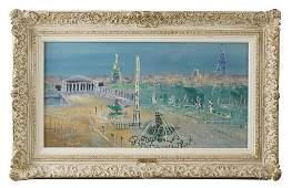 Jean Dufy (1888–1964) Gouache on paper