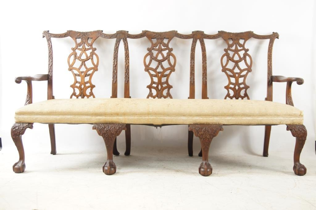 Very Early 19th cent. Thomas Chippendale sofa