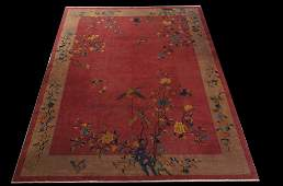 Chinese art deco Nichols carpet 810 x 11 5