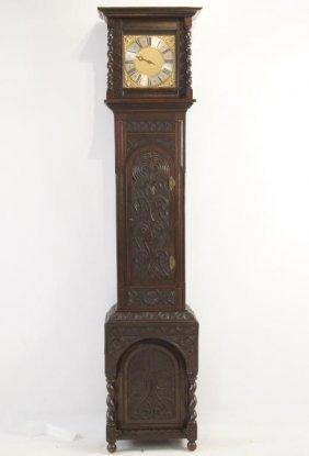 British Jacobean Clock Circa 1750