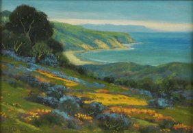 Attributed John Gamble (1863-1957) Oil On Canvas