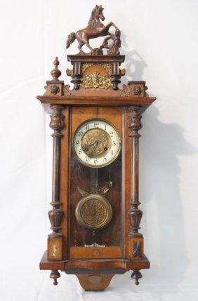 Wells Fargo Antique Wall Clock