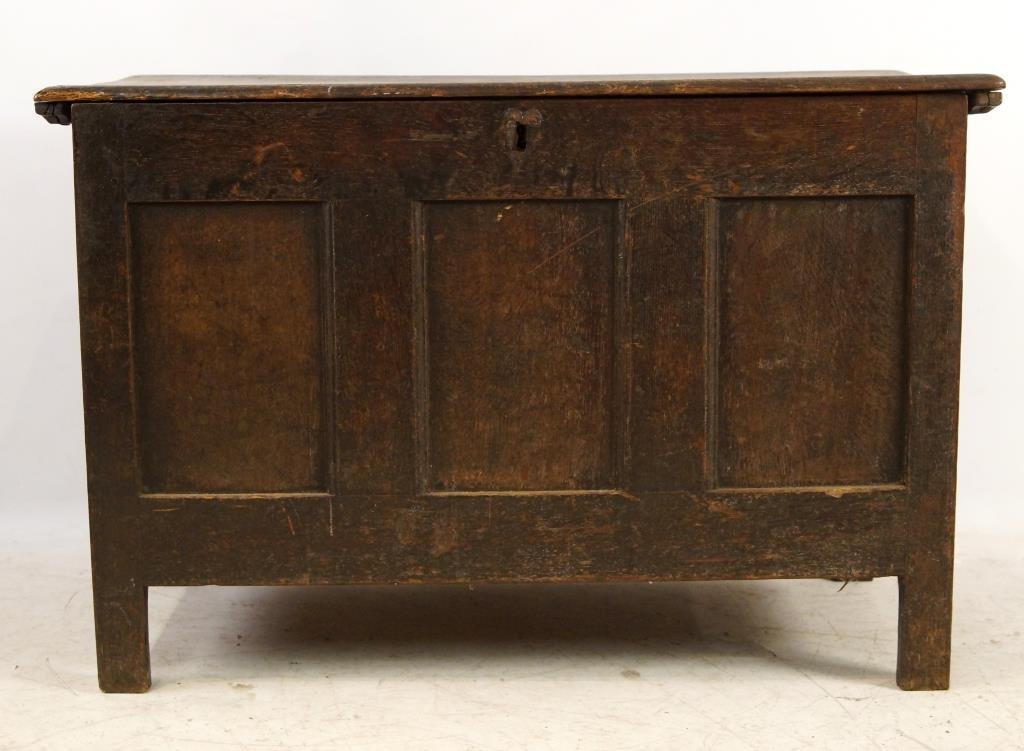 18th/19th cent Spanish Oak Blanket chest