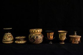 Museum Made Apulian Ware Greek Vessels