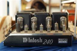 Vintage McIntosh 240 Stereo power amp