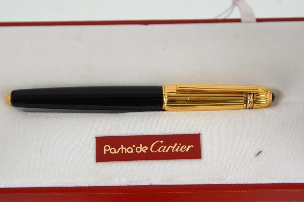 Cartier Gold Roller Ball pen original case