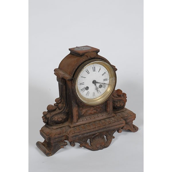 3001: Cast Iron Mantle Clock