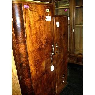 Antique Art Deco Rosewood Armoire