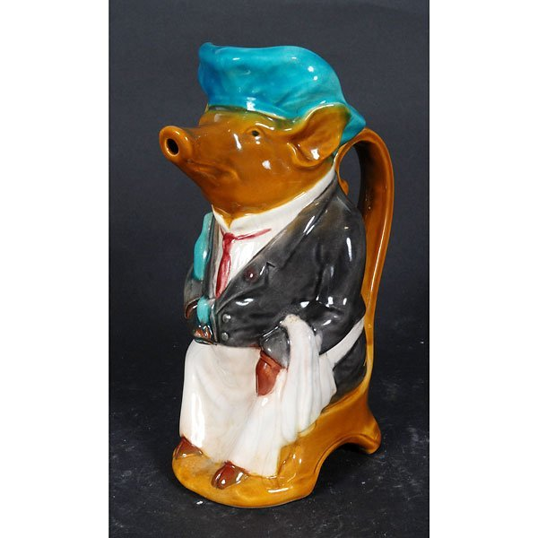 4004: Ceramic rat chief pitcher with handle