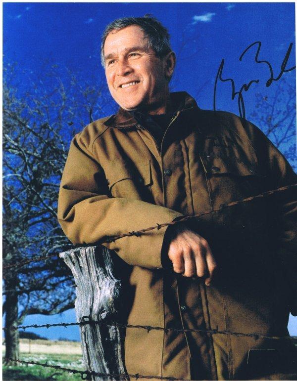3: George W. Bush Signed Photo UACC PADA