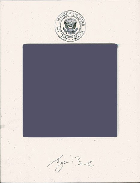 20: George W. Bush Presidential Memorabilia UACC PADA