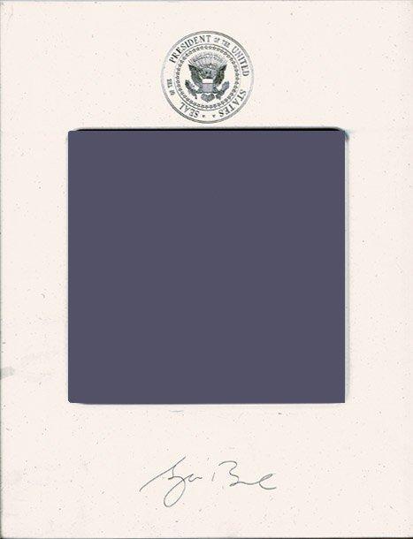 1020: George W.  Bush  Presidential Memorabilia UACC PA