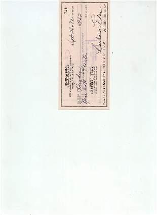 Collection Checks Signed Check UACC PADA