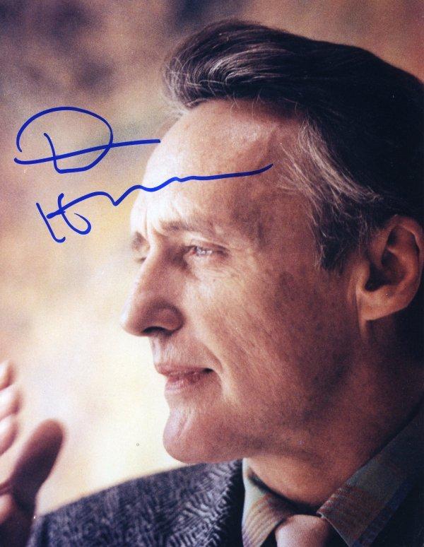 1449: 1449: Dennis Hopper Signed Photo UACC PADA