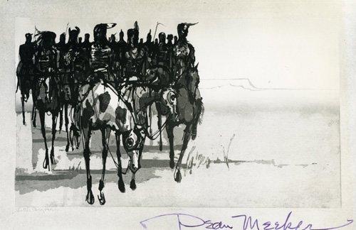 1852: Dean Meeker Document Signed UACC PADA