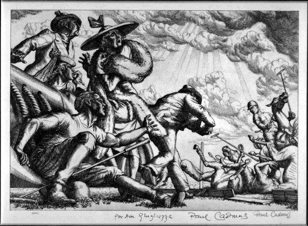 1853: Paul Cadmus Document Signed UACC PADA