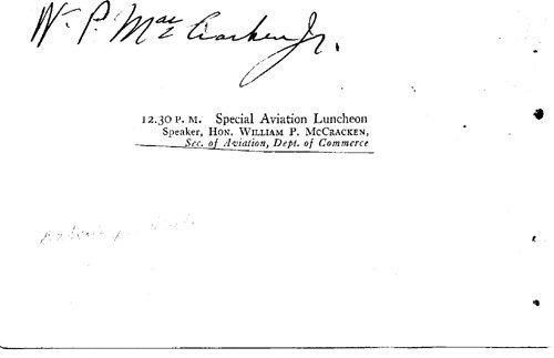 1859: William P. MacCracken Signed UACC PADA